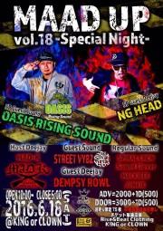 MAAD UP vol.18 -Special Night-